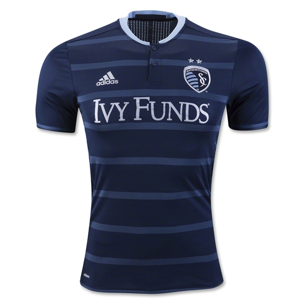 Sporting KC 2016 Authentic Away Soccer Jersey