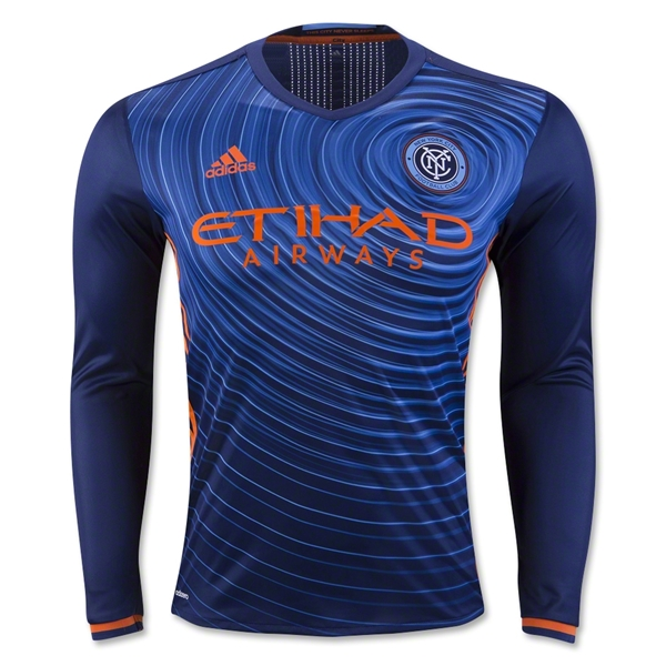 New York City FC 2016 LS Authentic Away Soccer Jersey