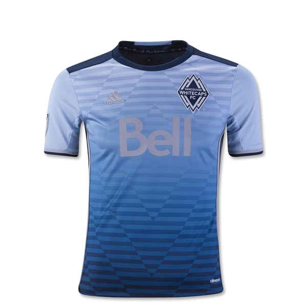 Vancouver Whitecaps 2016 Youth Away Soccer Jersey
