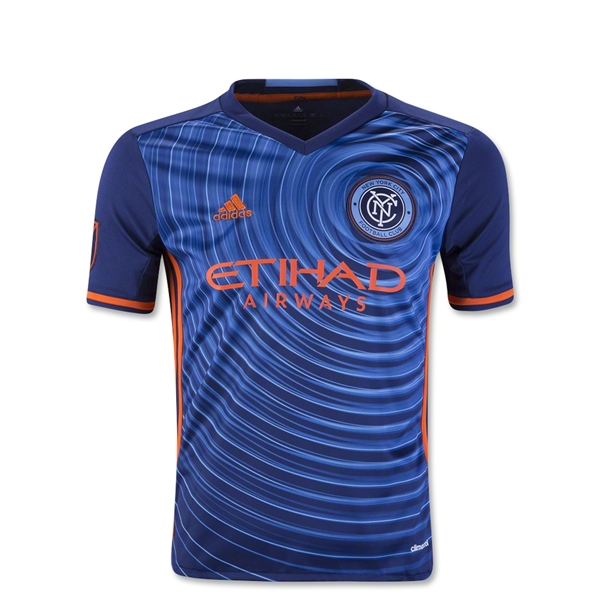 New York City FC 2016 Youth Away Soccer Jersey