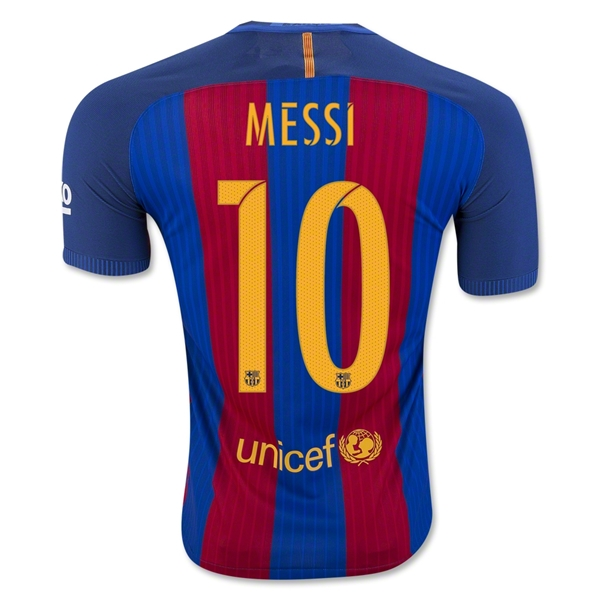 Barcelona 16/17 MESSI Authentic Camiseta de la 1ª equipación