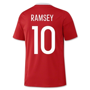 Wales 2016 RAMSEY Home Jersey
