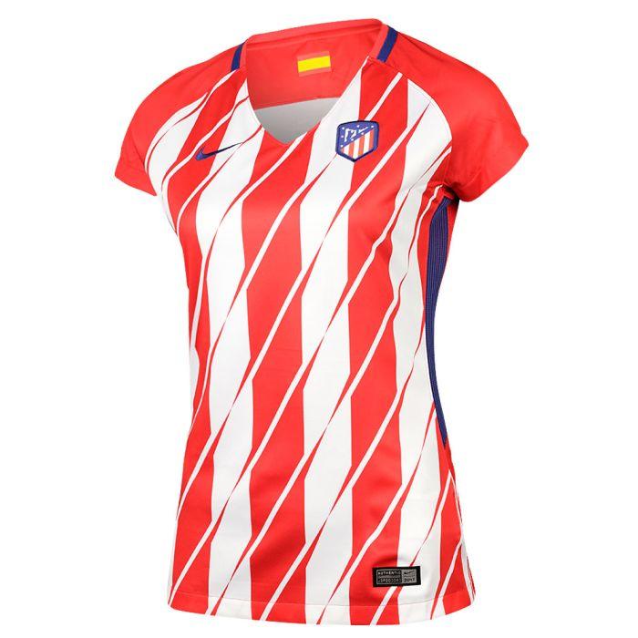 Camiseta Atletico Madrid 1ª Equipación 17/18 Mujer
